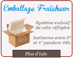 Emballage fraîcheur - viande cacher en ligne